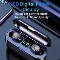 wireless bluetooth 5 0 earphone tws hifi mini in ear sports running headset earbuds support iosandroid phones hd call
