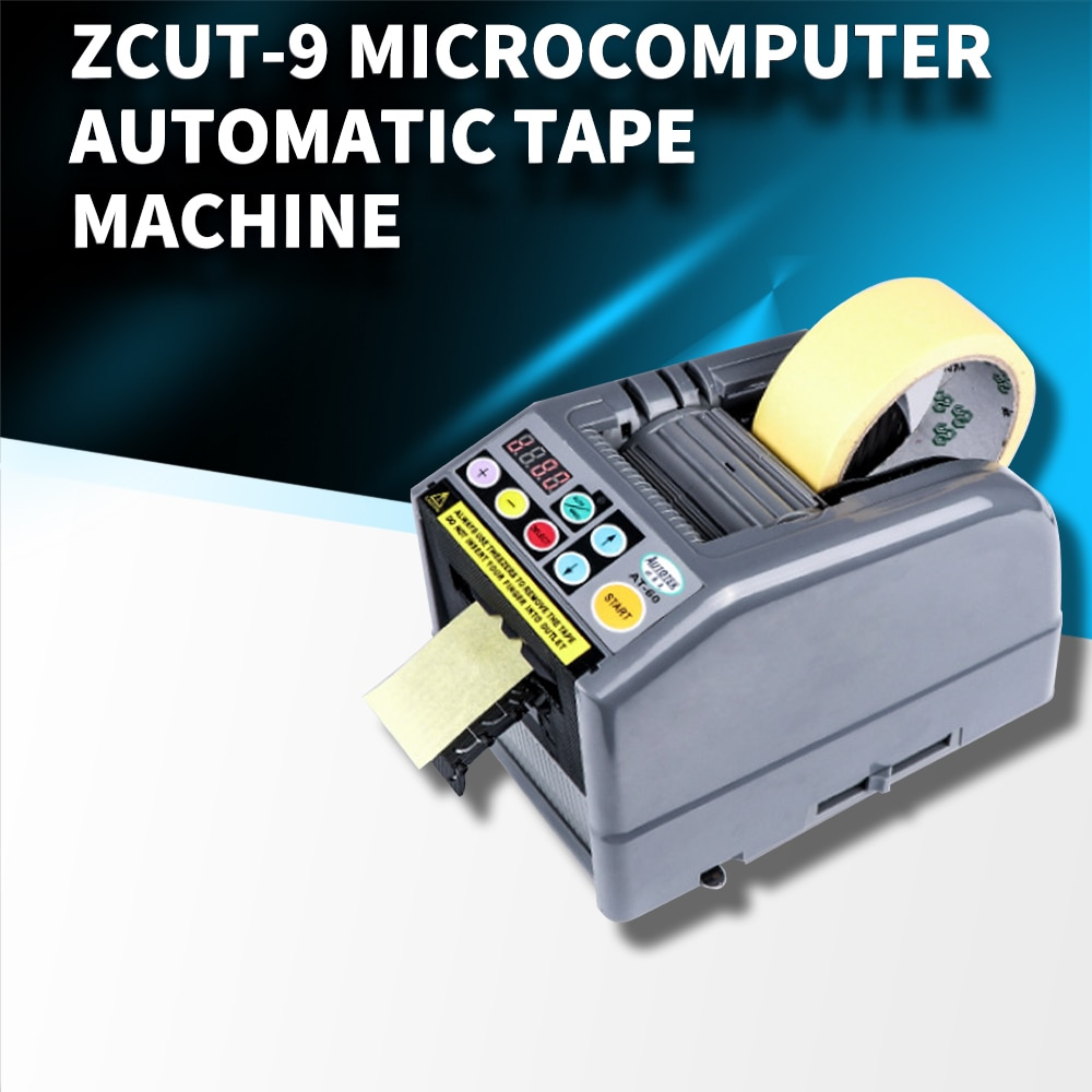 ZCUT-9 microcomputer automatic adhesive tape machine double-sided adhesive high temperature film tape cutting machine high quality auto tape cutting machine tape dispenser zcut 2