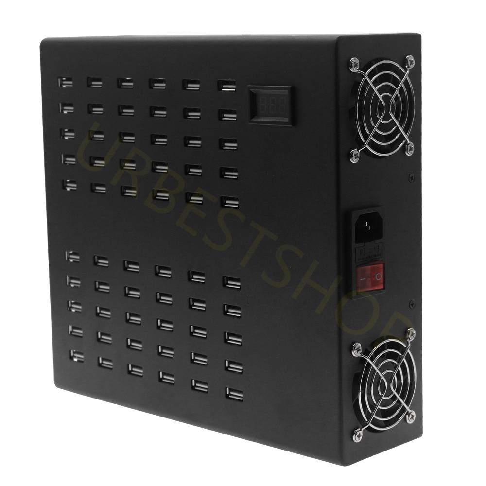 2021 Charging Station 600W 60 Ports USB-A Power Station Multi Port USB Wall Charger Adapter Rapid Charger Hotel Factory Aging enlarge