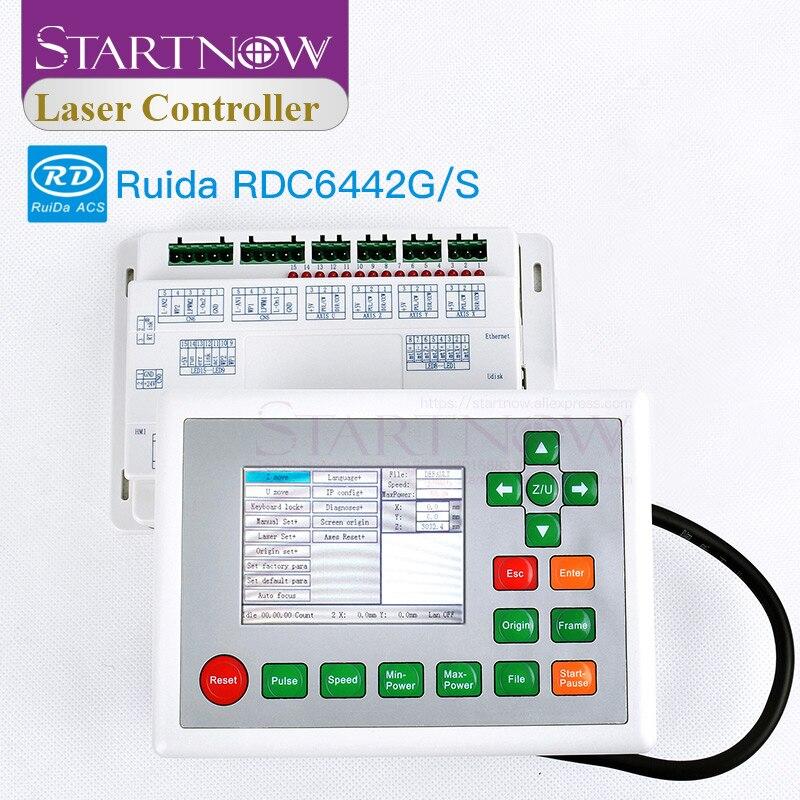 Controlador láser CO2 Ruida 6442G RDC6442G CNC tarjeta de Control láser para máquina de grabado láser RDC 6442S Panel