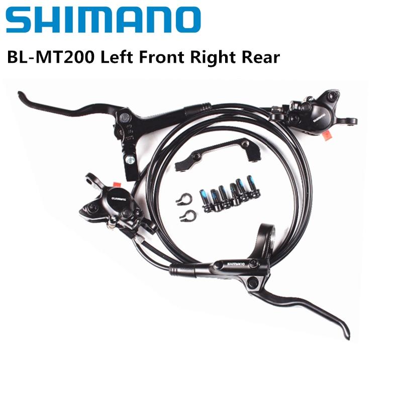 Shimano BR-BL-MT200 M315 الفرامل دراجة دراجة الجبلية الصحن الهيدروليكي الفرامل مجموعة المشبك دراجة هوائية جبلية الفرامل تحديث من M315 الفرامل