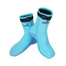 Sport plongée chaussettes plage chaussettes bottes 3mm néoprène chaussures deau chaussons de plage plongée en apnée plongée surf bottes pour hommes femmes