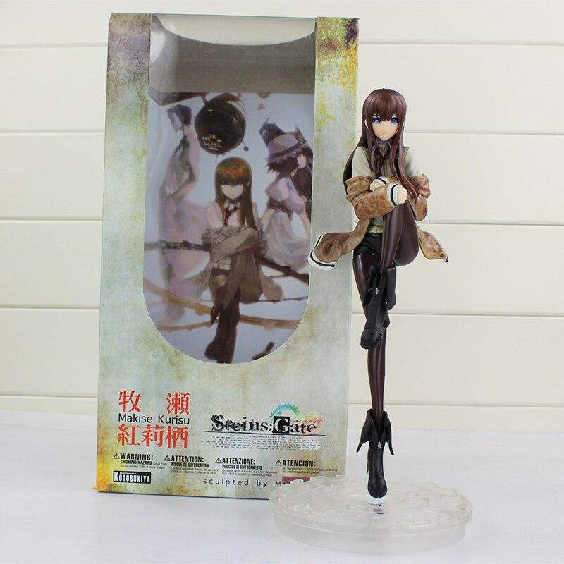 24cm Steins Gate juguete Makise Kurisu laboratorio miembros 004 Anime belleza Sexy muñecas modelo