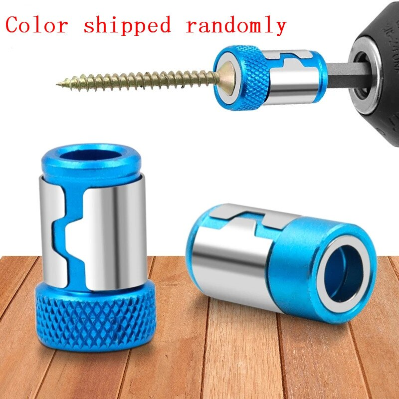 """Universal Magnetic Ring 1/4"""" Metal Screwdriver Bit Magnetic Ring For 6.35mm Shank Anti-Corrosion D"""