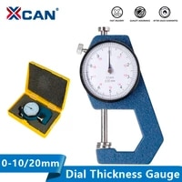xcan dial thickness gauge 0 100 20mm thickness meter tester for leather paper width measuring instrument tools