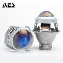 AES Kingkong F1 Hella 5 lentille de projecteur   Bleu ou haut transparent, objectif de projecteur RHD 3.0 pouces, objectif de projecteur RHD, phare modifié