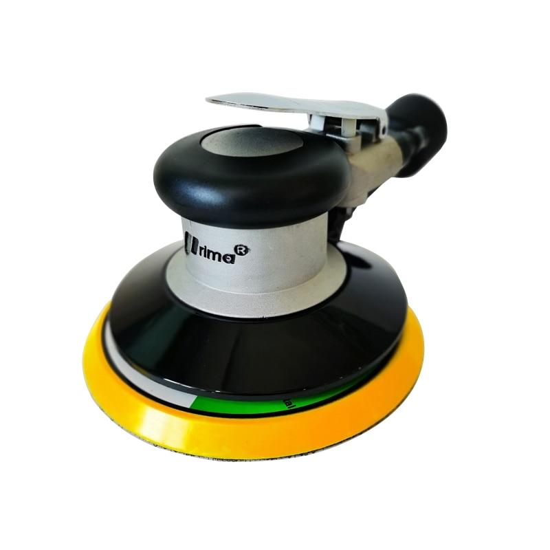 ATPRO  6 Inches 17 holes air Sander with Vacuum 150mm Pneumatic Sander 6
