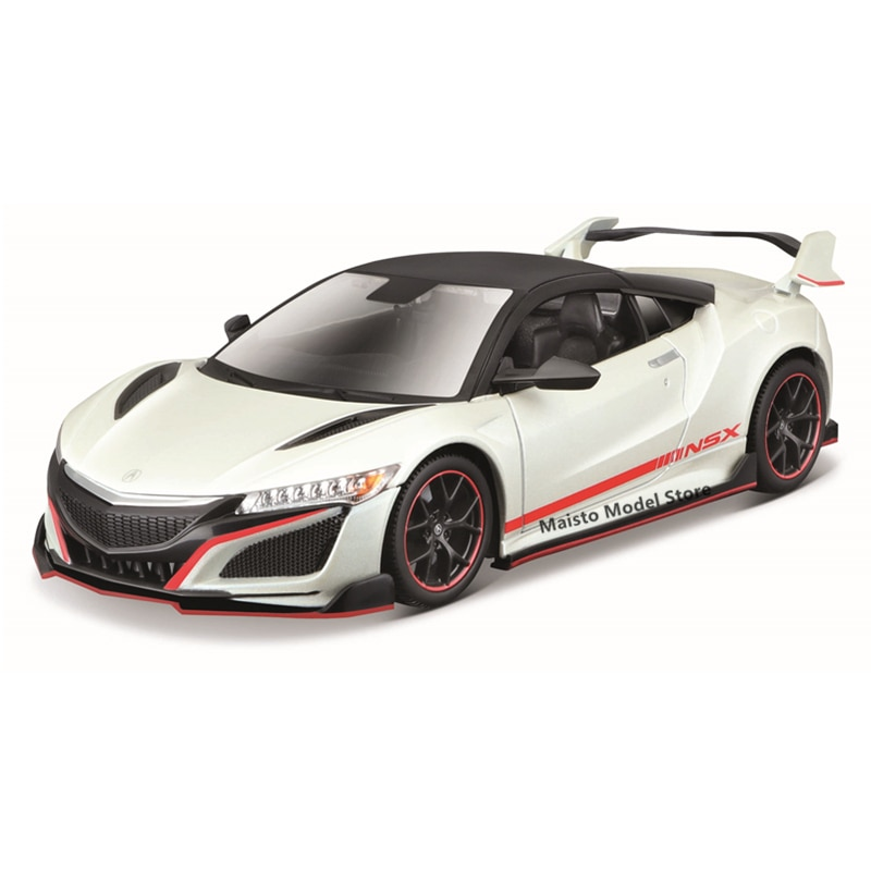 Maisto 1:24 Modified version 2018 ACURA NSX edition Highly-detailed die-cast precision model car Model collection gift