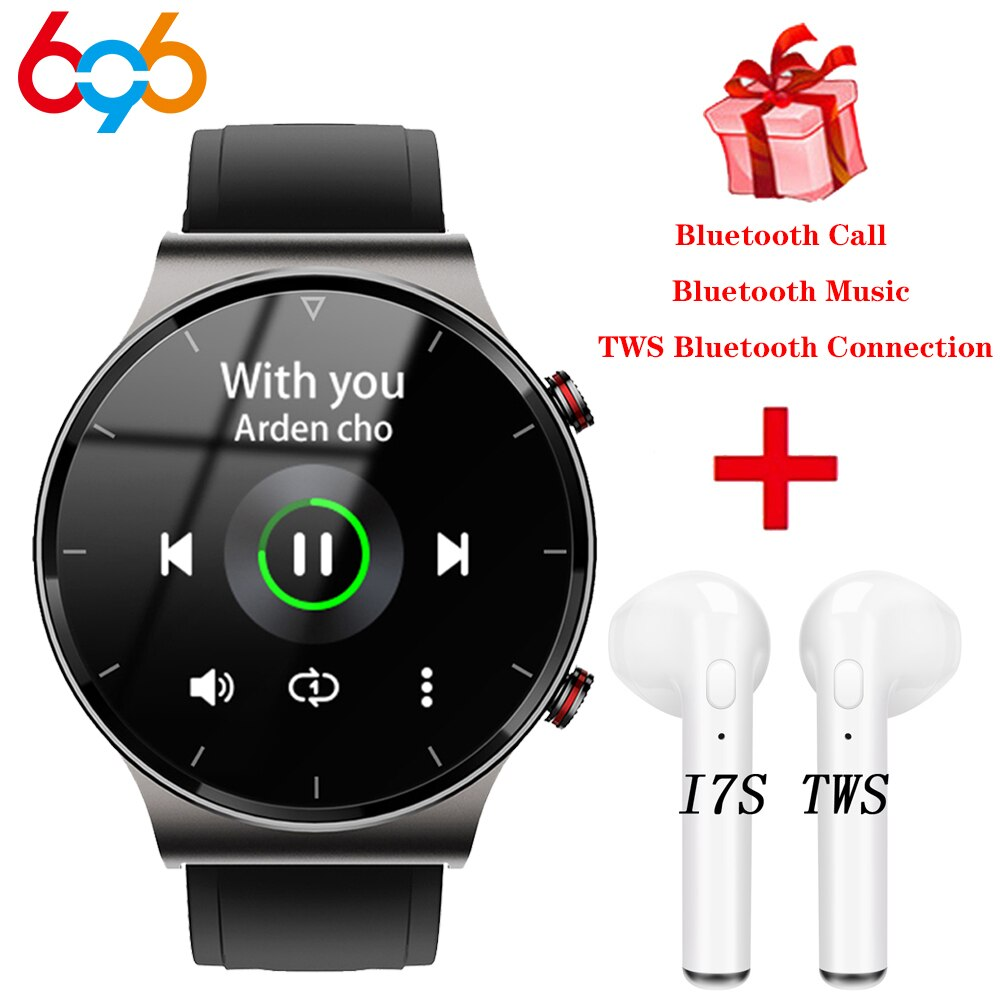 I19 Smart Watch Blue Tooth Call Smartwatch Connect Bluetooth Earphone TWS Headset Men MP3 Music Play