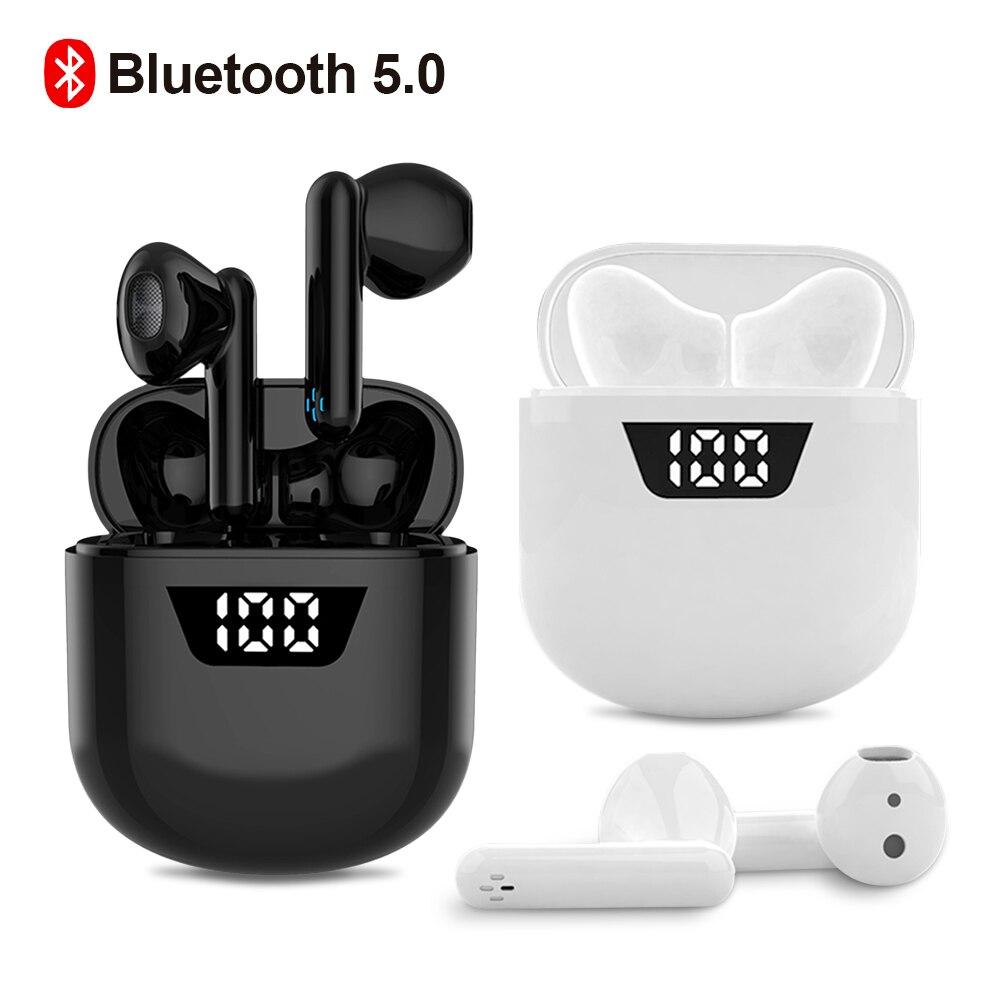 Bluetooth Kopfhörer Drahtlose kopfhörer Tws Gaming Headset Kopfhörer Ohrhörer Touch Cordless J55 Wasserdicht Dropshipping Ohrhörer