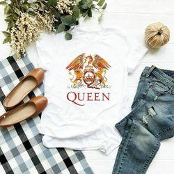 Freddie mercury a rainha banda boêmio rhapsody t camisa vintage masculino presente t