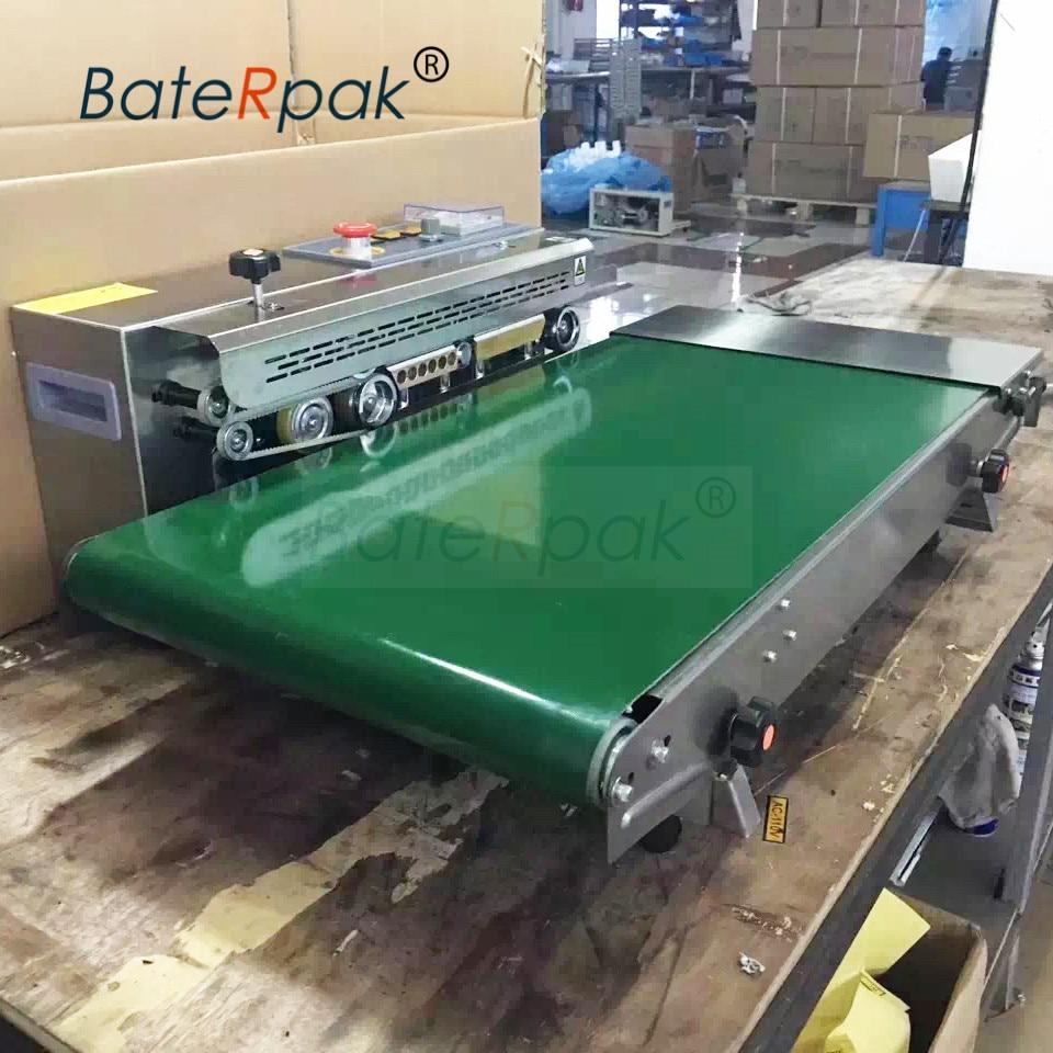 FR-770 BateRpak Heavy duty add width Continuous film sealing machine,stainless steel band sealer, (220V/50Hz) недорого