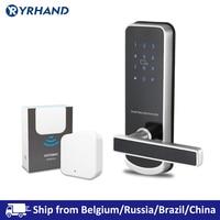 TTlock Bluetooth WiFi Security Safe Electronic Keypad RFID Keyless Smart Door Lock
