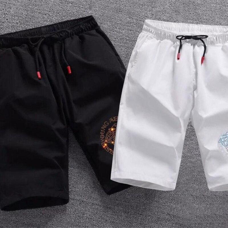 Мужские повседневные брюки Free mail, Новинка лета 2021, быстросохнущие повседневные мужские шорты, пятиконечные брюки, уличная одежда, горячие б...