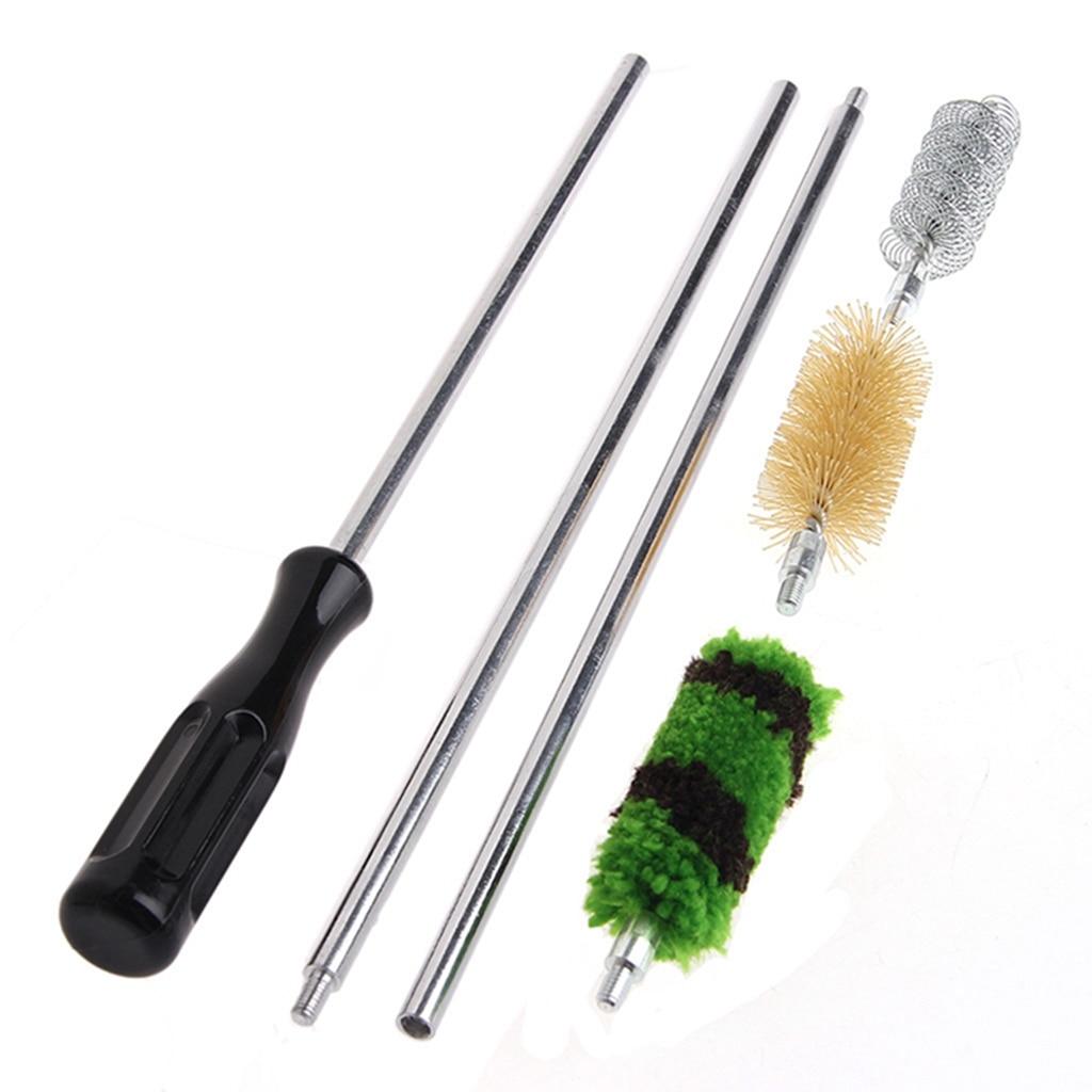 6Pcs/set Rod Brush Cleaning Kit Aluminum For 12 GA Gauge Gun Hunting Shotgun Rifle Hotselling Dropshipping