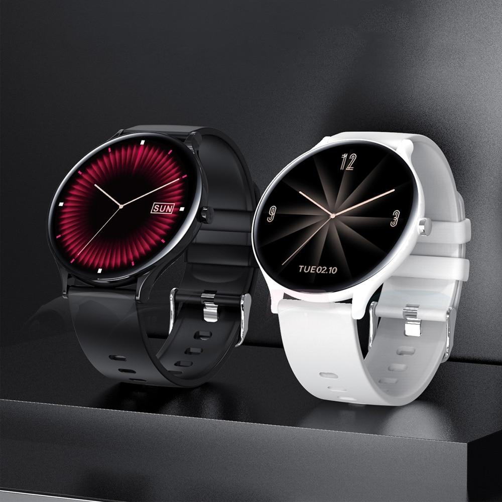 Inteligente para Mulheres dos Homens Monitoramento de Pressão Smartver para Android Novo Relógio Polegada Freqüência Cardíaca Arterial Fitness Rastreador Esporte Ios 1.28