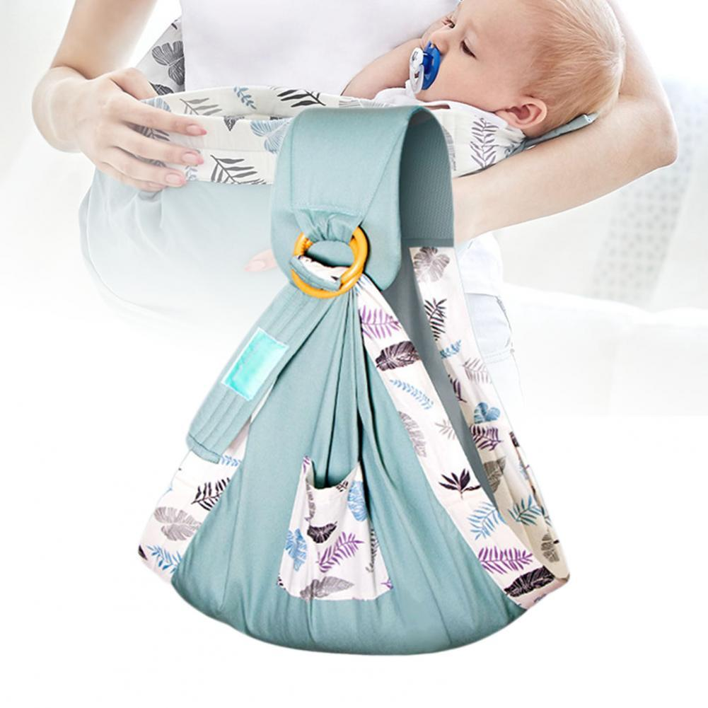 Baby Wrap Carrier Newborn Sling Dual Use Infant Nursing Cover Breathable Fabric Breastfeeding Carriers for Infant
