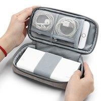 Сумка LIYIMENG для хранения внешнего аккумулятора, сумка для хранения кабеля, дорожная Фотосумка для жестких дисков, USB, зарядного устройства, н...