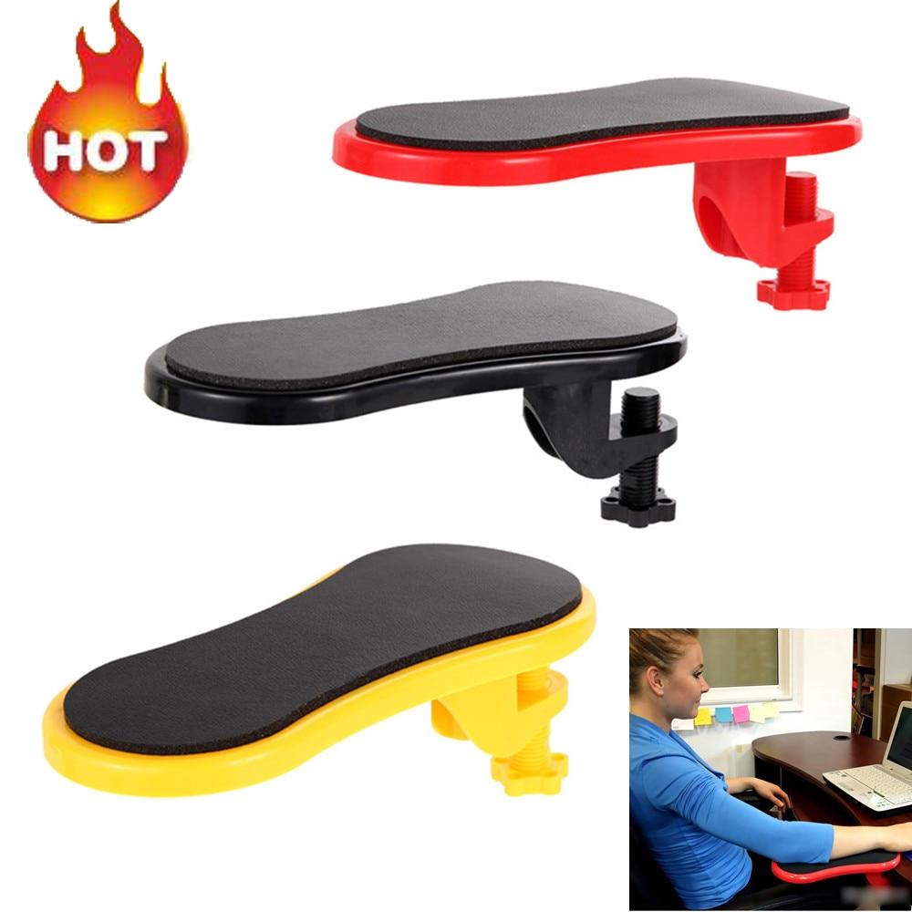 Прикрепляемый подлокотник, настольный компьютерный стол, подлокотники для мыши, подлокотники для запястья, подлокотники для рук, Защита пл...