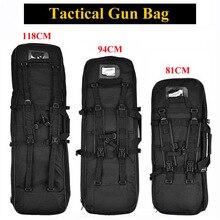 81cm 94cm 118cm bon équipement tactique militaire tir pistolet sac armée chasse Airsoft Sniper fusil étui Protection sac à dos