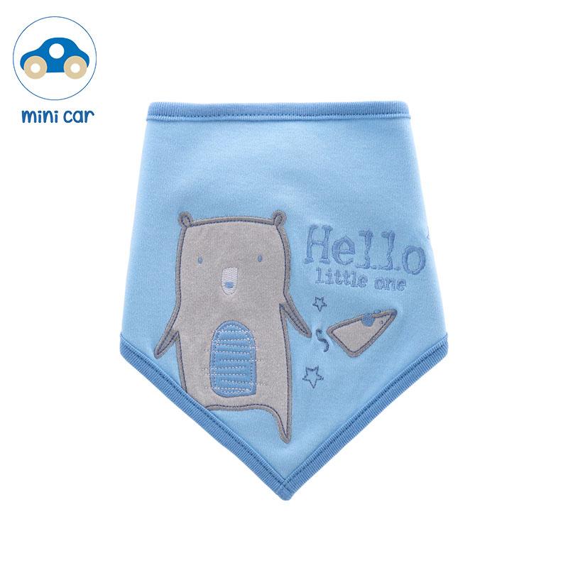 Double waterproof saliva towel 12 months newborn baby bib men and women baby triangle scarf