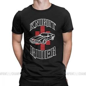 Knight Rider Knight Industries 2000 Kitt for Men David Hasselhoff Casual Cotton Tee Shirt Short Sleeve 2021 T Shirt Gift