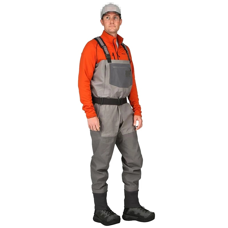 Women Duck Hunting Waders Chest Inner Pocket Adjustable Belt Summer Fishing Clothes Waterproof And Breathable