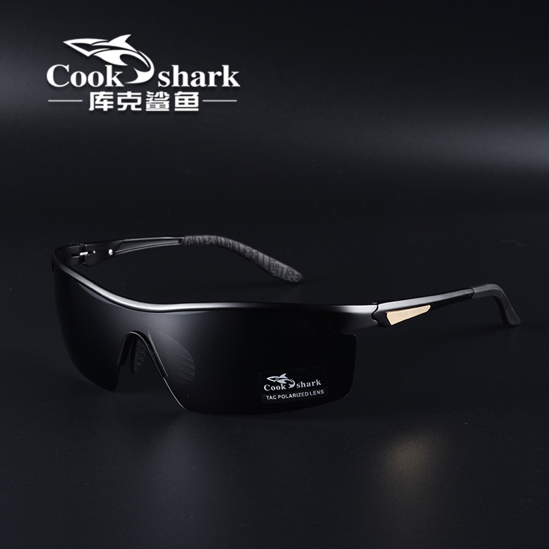 Cook shark 2021 new polarizing sunglasses men's driving glasses special trend color changing Sunglas