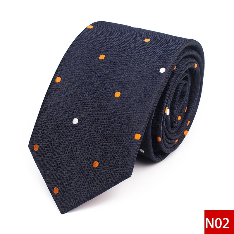 High Quality 2020 Designer New Fashion Men 6cm Ties Creative Pattern Neckties Casual Wedding Work Formal Suit Ties with Gift Box