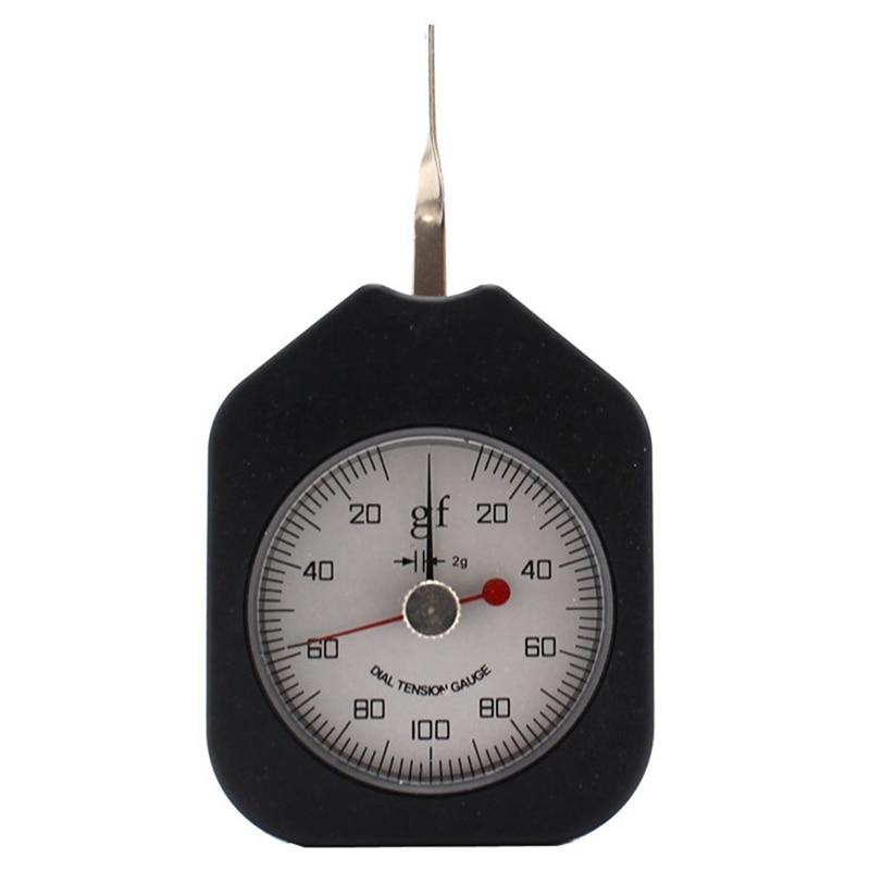 SEG-100-2 medidor de tensión 100G medidor de Dial analógico herramientas de doble puntero medidor de tensión