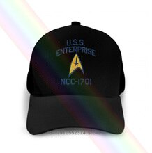 Uss Enterprise Ncc-1701 Lizenzierte Männer Marke Kappe Baumwolle Männlichen Kappe Sommer Mode Kleidung F