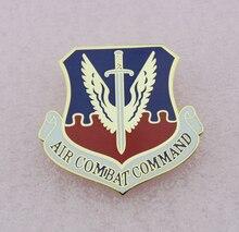 USAF Air Combat Command Chest badge emblem - Replica TV/Movie Prop pin Badge