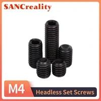 m3 m6 black grub screws cup point hex hexagon socket set screw allen headless set screws bolts high tensile 12 9 grade