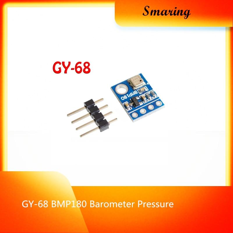 GY-68 BMP180 barómetro de presión/temperatura/Sensor de altitud BMP085 Módulo de placa para Arduino DIY Kit Experimental Project