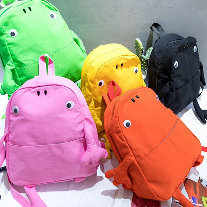 Harajuku Backpack School Bags For Teenagers Girls Lovely   Backpack Female Solid Color Big Capacity Rucksack Mochilas Feminina