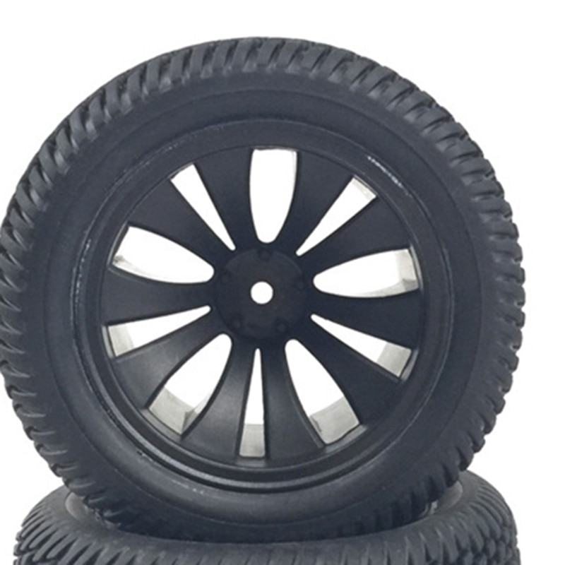 for HBX 1/12 High Speed RC Car Tires Rubber Wheel Complete for Truck 12056 Car Parts enlarge
