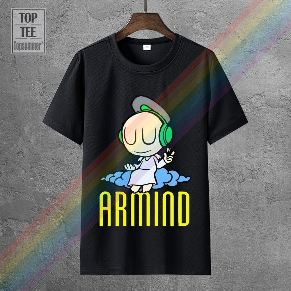 Armind Транс-музыки фирменная футболка крутая модная футболка Kawaii смешные футболки с аниме рисунком Harajuku новинки, новые милые футболки