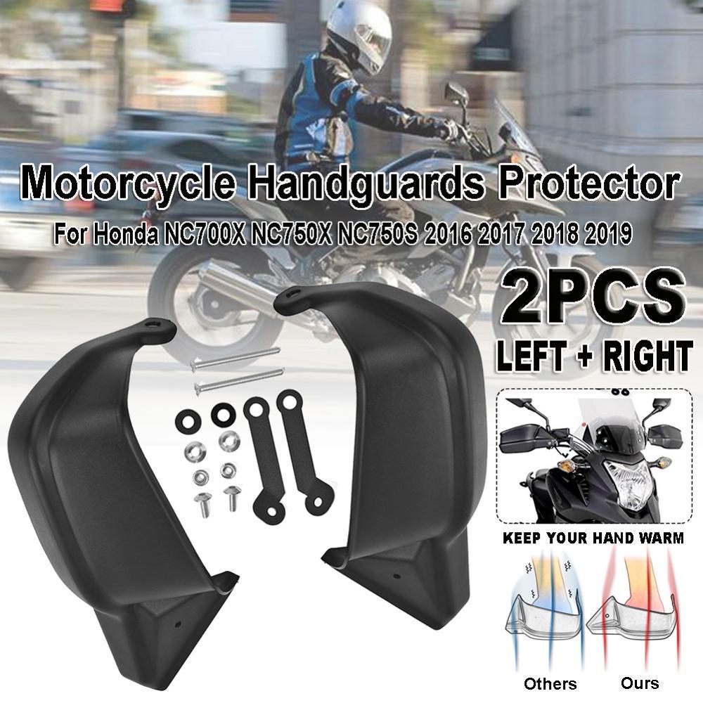 1Pair Motorcycle Hand Guard Handguard Shield Protector Gear Hand Guard Protection for Honda NC700X NC750X NC750S 2016 2017-19