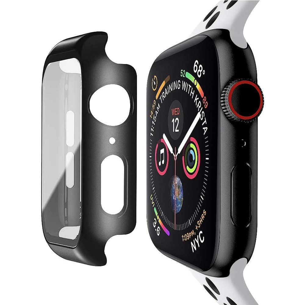 100d curved tempered glass for apple watch series 38 40 42 44 38 42mm hd screen protector film for iwatch 5 4 3 2 1 full glue Tempered Glass Screen Protector For Apple Watch Series 6 5 4 3 2 1 SE 44mm 40mm 42mm 38mm iwatch 38 40 42 44 mm Film Protection