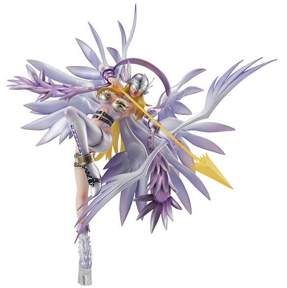 القتال فتاة عمل الشكل أنيمي Digimon الوحش مغامرة Angewomon عمل نموذج لجسم اللعب دمية 24 سنتيمتر