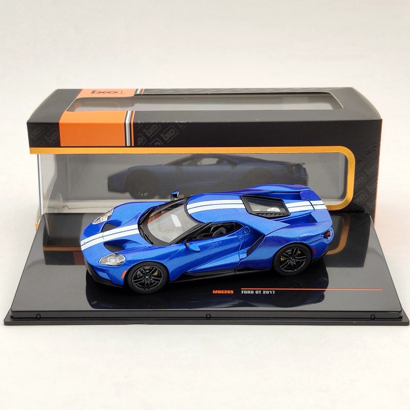 ixo 1 43 for v ksw gen polo classic 1996 diecast models collection limited edition auto toys car gift red IXO 1/43 For FORD GT 2017 BLUE MOC205 Diecast Models Limited Edition Auto Car Gift Collection