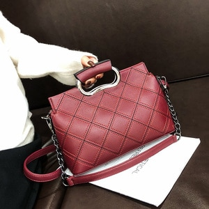 Brand Women's Shoulder Bag High Quality Leather Underarm Bags for Women Handbag and Purse Metal Chain Crossbody Bag Casual Tote