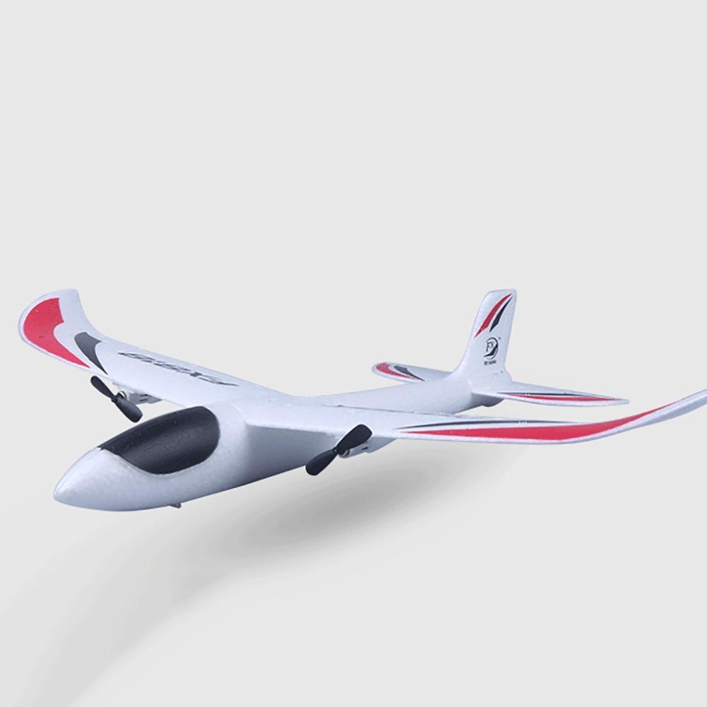 FX-818 2.4G EPP Foam Remote Control RC Airplane Glider Toy LED Light Quadcopter Glider Airplane Mode