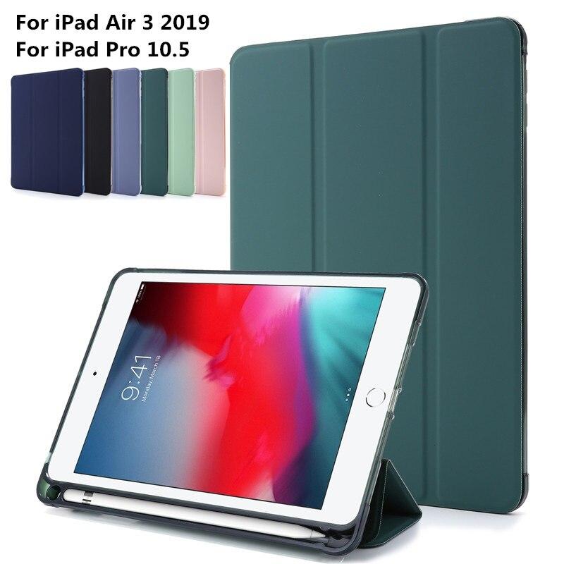 Funda inteligente de silicona UV suave Para iPad Air 3, carcasa suave...