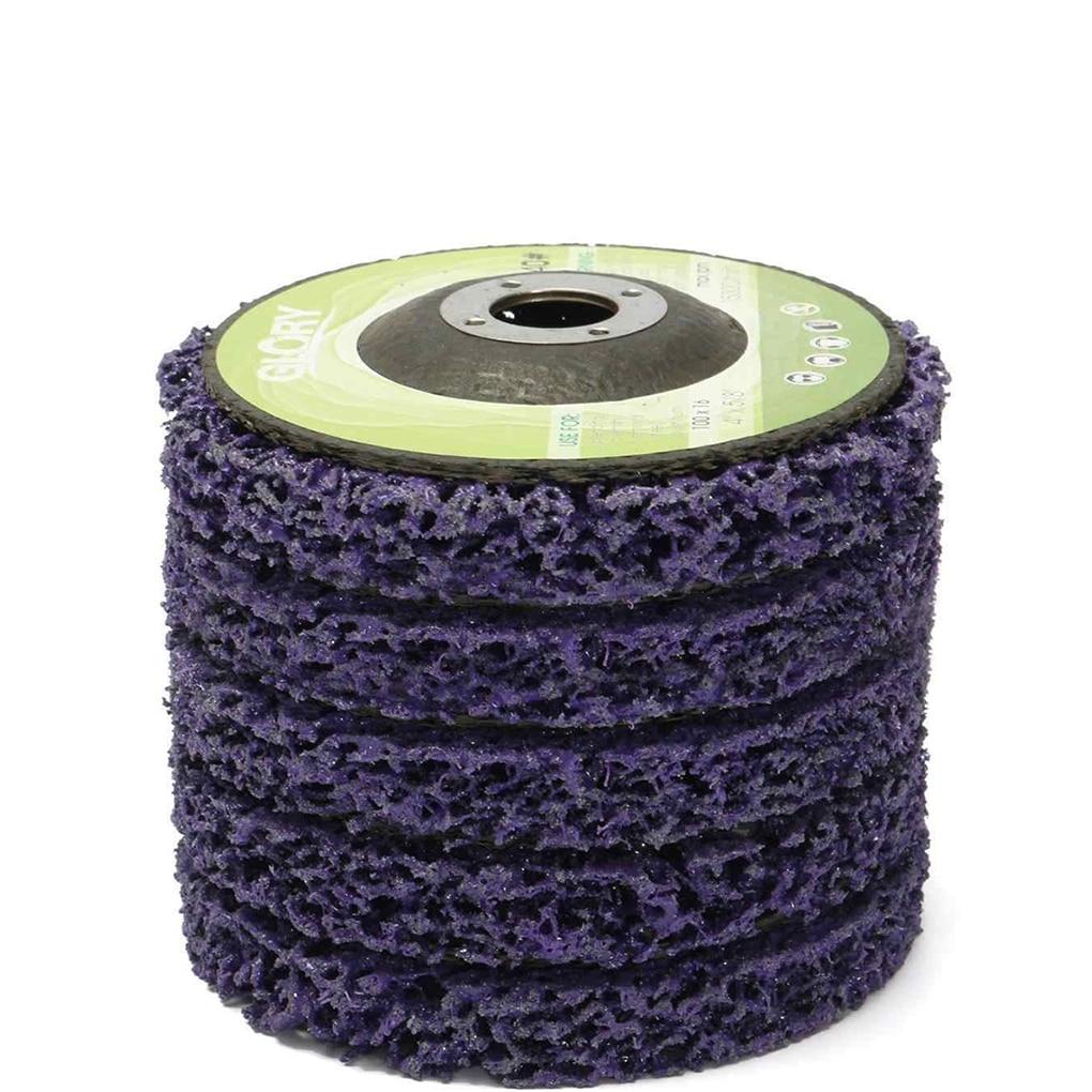 Šlifavimo ratas dažams padengti ir rūdims pašalinti, kampinių šlifuoklių priedai 100 * 16mm