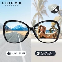 lioumo new fashion oversized sunglasses women chameleon polarized female glasses photochromic driving eyewear uv400 zonnebril