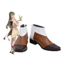 Botas FGO Enkidu para Cosplay, zapatos marrones hechos a medida, cualquier tamaño
