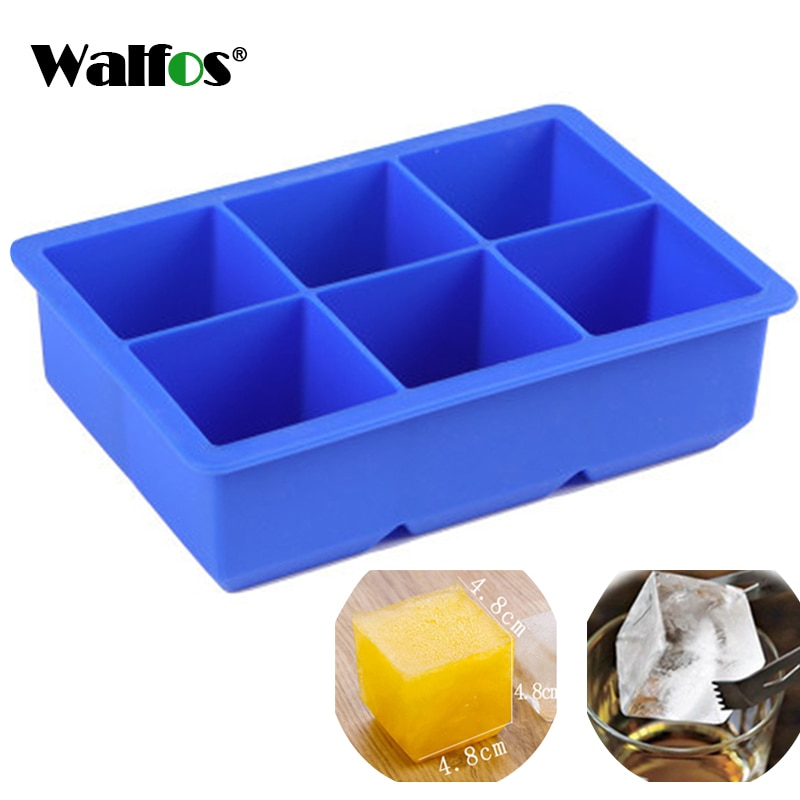 KITNEWER extra large flexible silicone ice cube tray ice maker