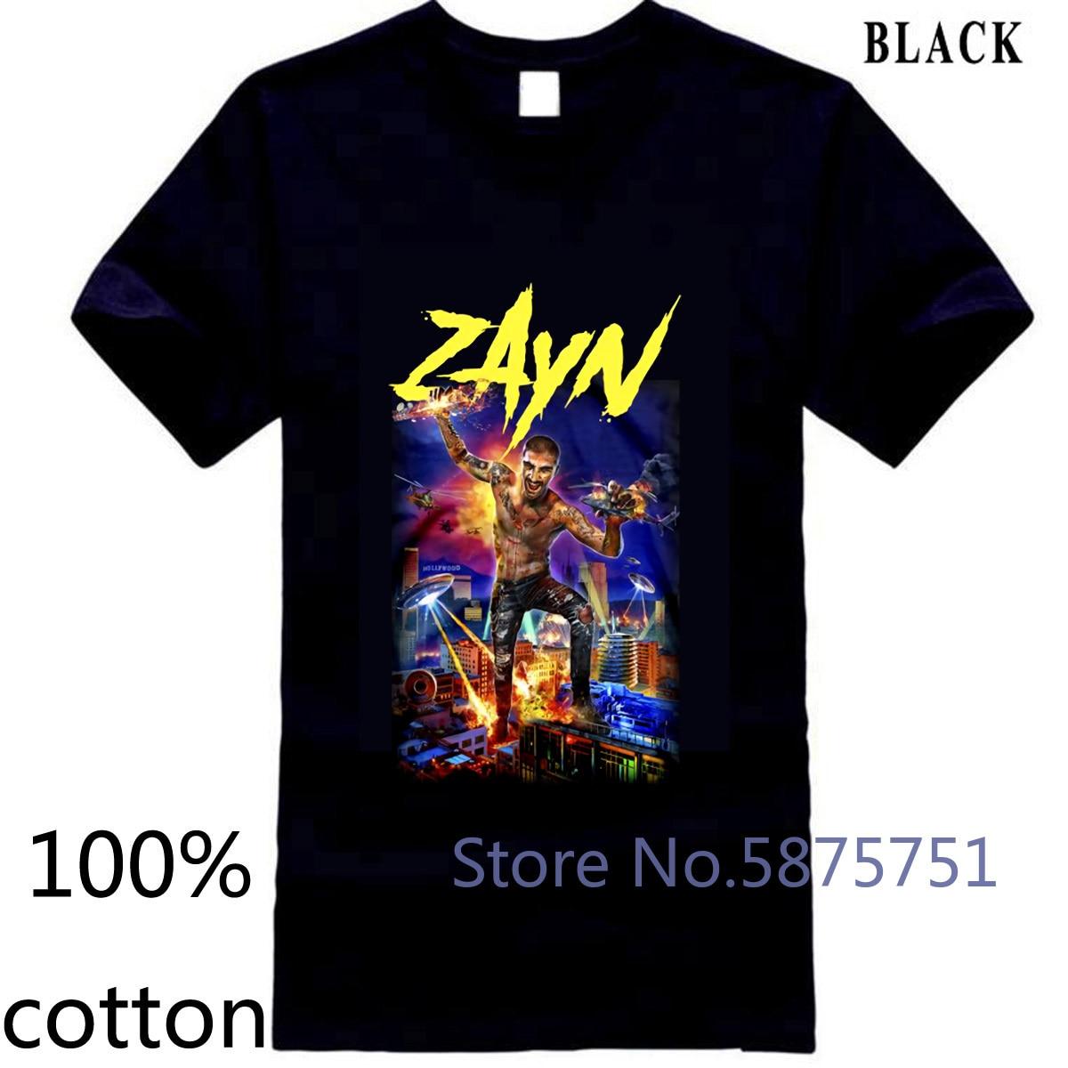 Auténtico ZAYN Z-Day Slim-Fit M L nueva marca Fitness Body Building Design camiseta para Hombre Camisetas tops 100% algodón