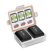 Batmax Caméra Boîtier De Batterie Étanche SD CF étuis de carte mémoire Pour Canon LP-E6 BP-511 Sony NP-FZ100 NP-FM500H Nikon EN-EL15 EN-EL3E